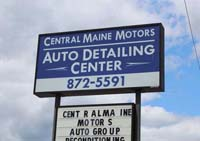 Central Maine Motors Auto Detailing Airport Road